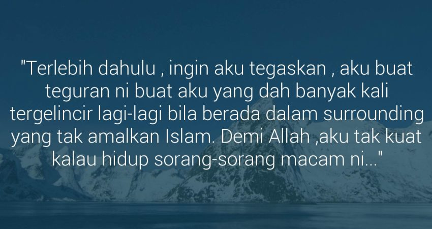 6 Pesanan Ini Khusus Untuk Kelab Islam Di Kampus