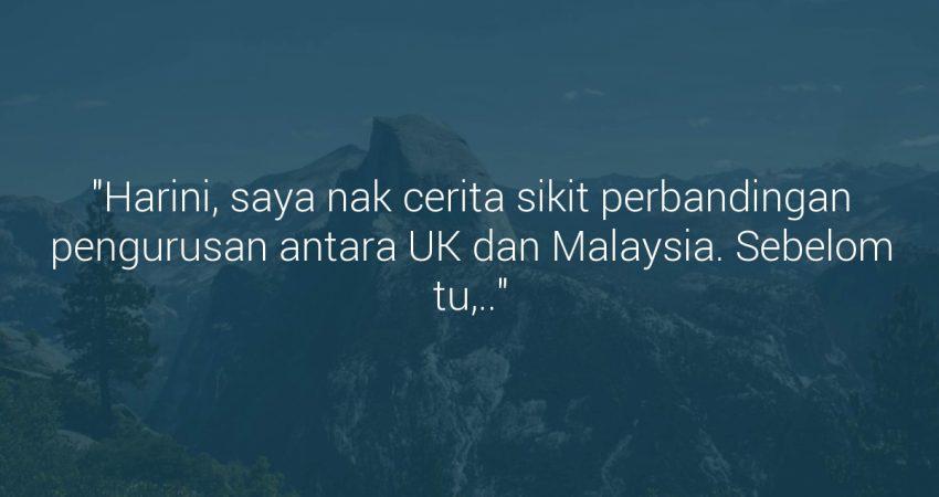 Beza Pengurusan Antara Malaysia & UK