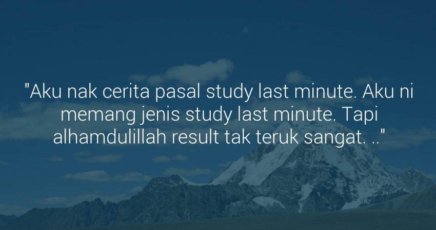 Study Last Minute
