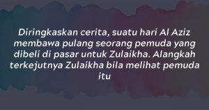 Benarkah Siti Zulaikha Itu Isteri Nabi Yusuf A.S.