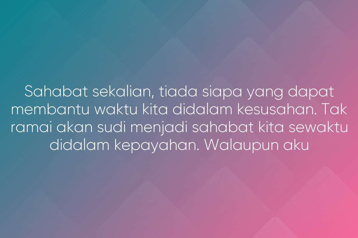 Maafkan Kami, Rakyat Malaysia!