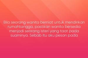 Nasihat Poyo Buat Wanita