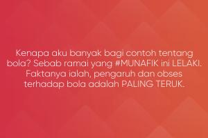 Netizen Munafik Penunggang Agama